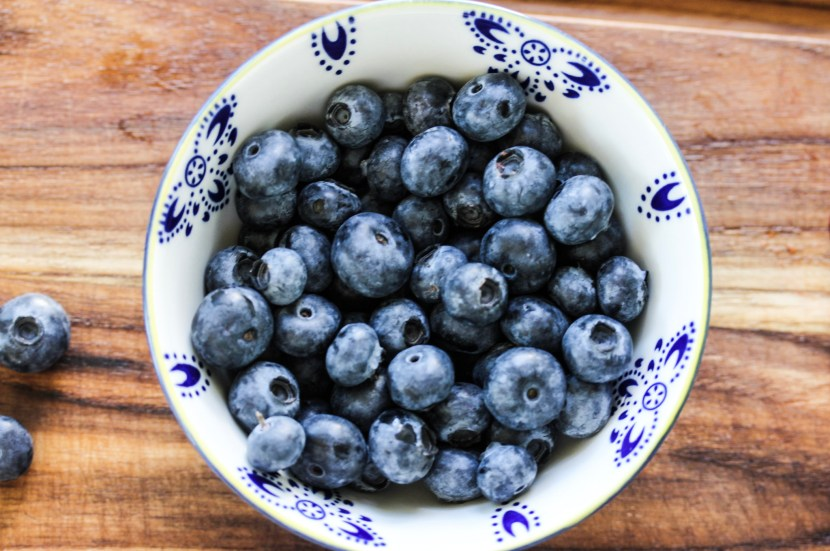 Summer Blueberries for low sugar smoothie