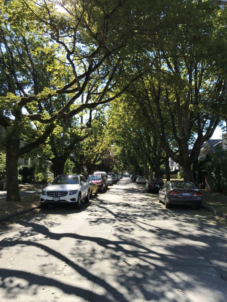 Kitsilano street
