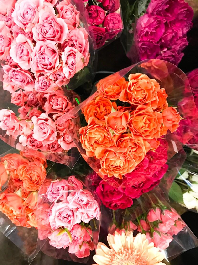 flower market roses