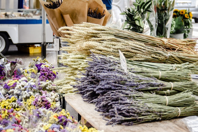 Lavender for sale in Provence market
