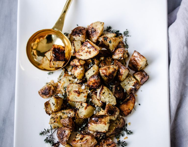 Roast Truffle Potatoes