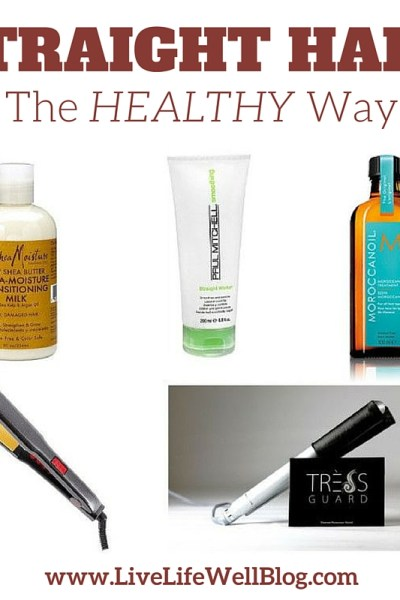 Straight Hair: The Healthy Way