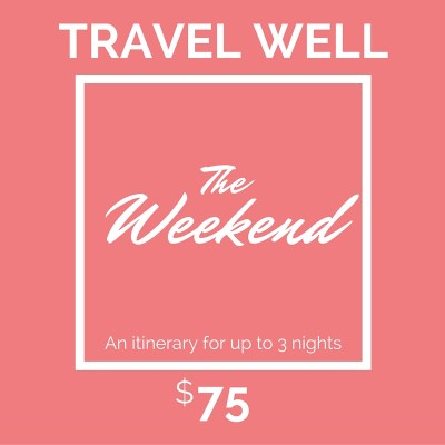 Travel Well - The Weekend