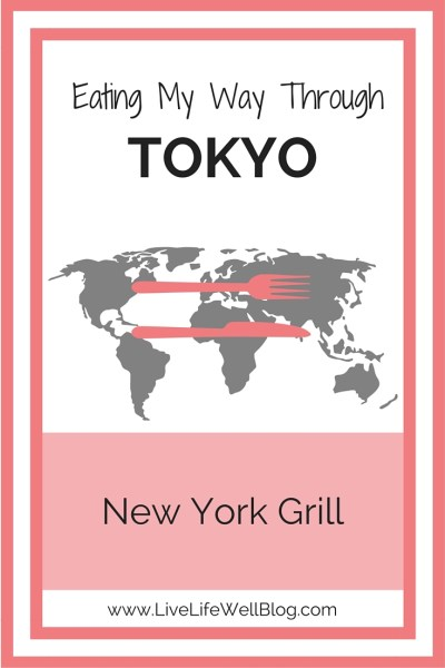 My experience at Tokyo's New York Grill