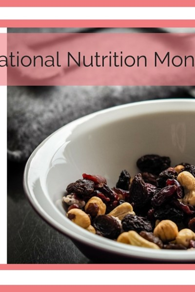 National Nutrition Month Snack Well Challenge