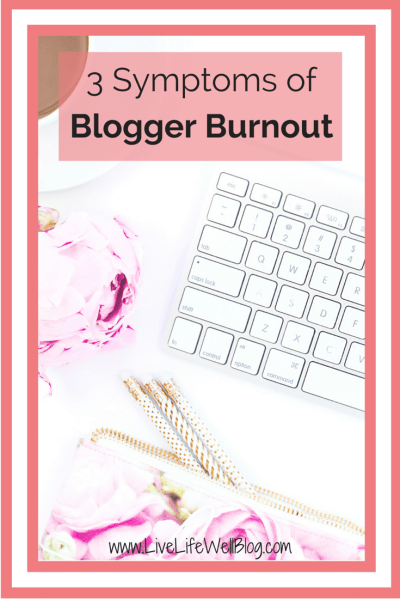 Have you ever experienced blogger burnout? Today on LiveLifeWell I'm sharing the symptoms AND the solutions!