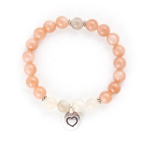 Sunstone & Moonstone Bracelet