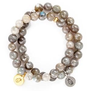 Labradorite Charm Bracelet