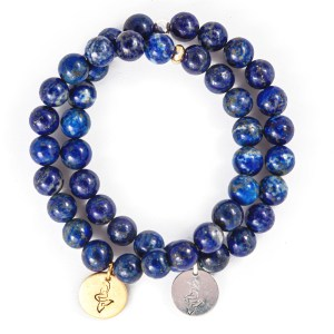 Lapis Lazuli Charm Bracelet