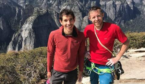 Nuovo Nose Record per Alex Honnold Tommy Caldwell: 2:10:15