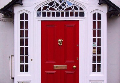 Paint A High Gloss Front Door Doors This Old House