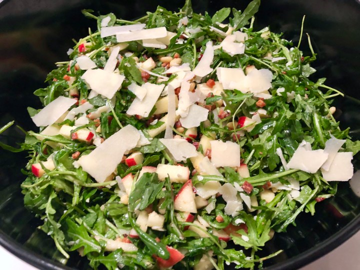 The Best Lil' Arugula Salad I Ever Did Taste
