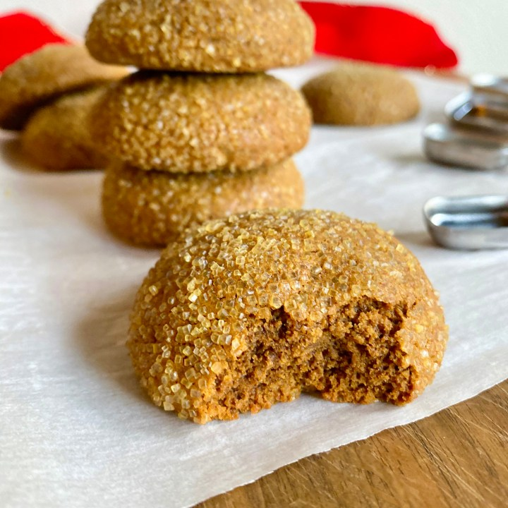 Soft and Chewy Molasses Cookies