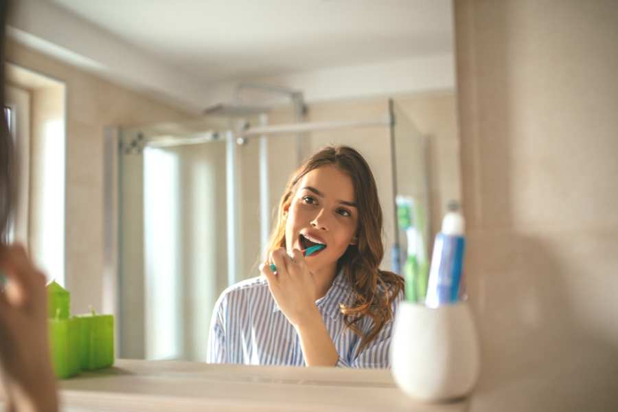get up get dressed and brush your teeth working from home