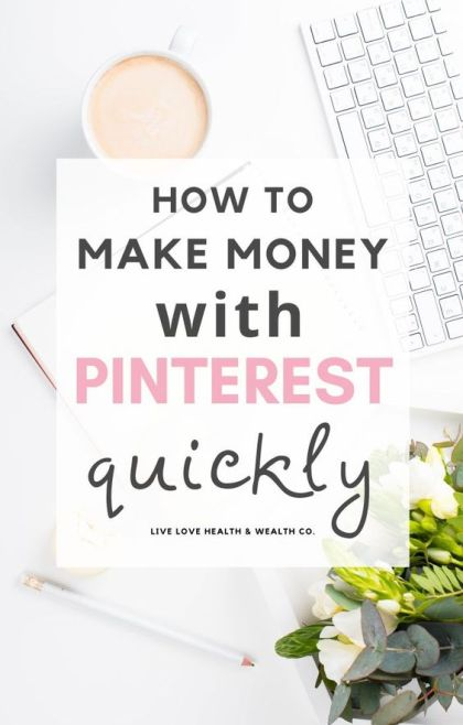 How Pinterest makes $5k for Me Every Single Month   Side Hustles   Work from Home