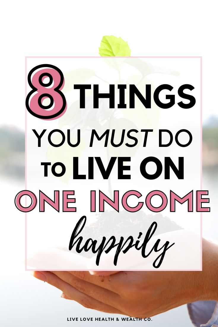 8 Money Tips for Families Living Off One Income
