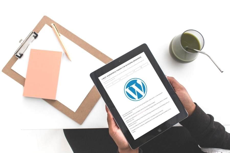4 Best WordPress Themes for Blogging Beginners