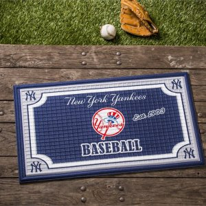 Embossed Door Mat New York Yankees