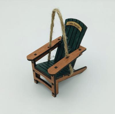 green Lake George ADK chair