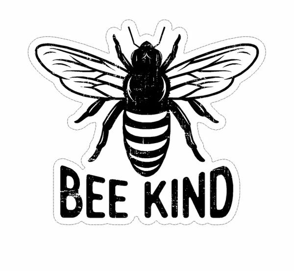 Bee Kind decal