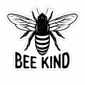 Bee Kind decal