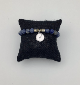 TJazelle Dumortierite bracelet