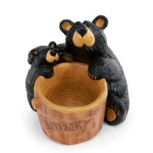 bears in the honey pot