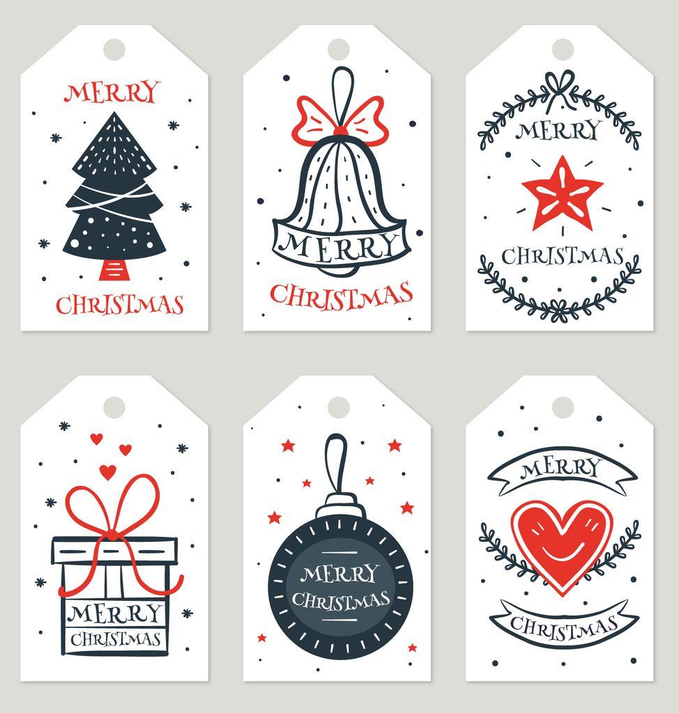 最终的条形码用于新年礼物的设计,或标签的角色,照片№28
