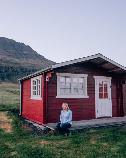 Cabin at Berunes HI Hostel & Camp in eastern Iceland. Check out our perfect 6 day itinerary for Ring Road in Iceland!