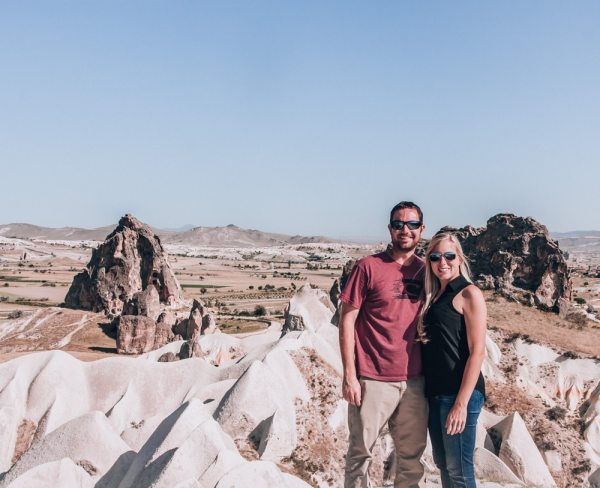 One of the best views and the hardest spots to find in Cappadocia! Click for a 3 day itinerary and guide to Cappadocia's must see locations and most Instagramable places including exact directions to this spot.
