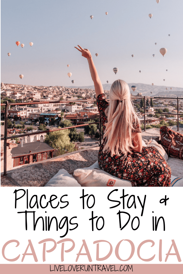 A 3 day itinerary and guide to Cappadocia's must see locations and most Instagramable places. #travel | Cappadocia Turkey | Turkey travel | Cappadocia photography | Cappadocia balloon | Cappadocia hotel | Cappadocia things to do in | Cappadocia instagram | Cappadocia itinerary | Cappadocia photo ideas | Cappadocia sunset | Cappadocia sunrise | Where to stay in Cappadocia | Cappadocia Turkey caves | Cappadocia Turkey hot air balloon | Cappadocia travel guide | Things to do in Cappadocia
