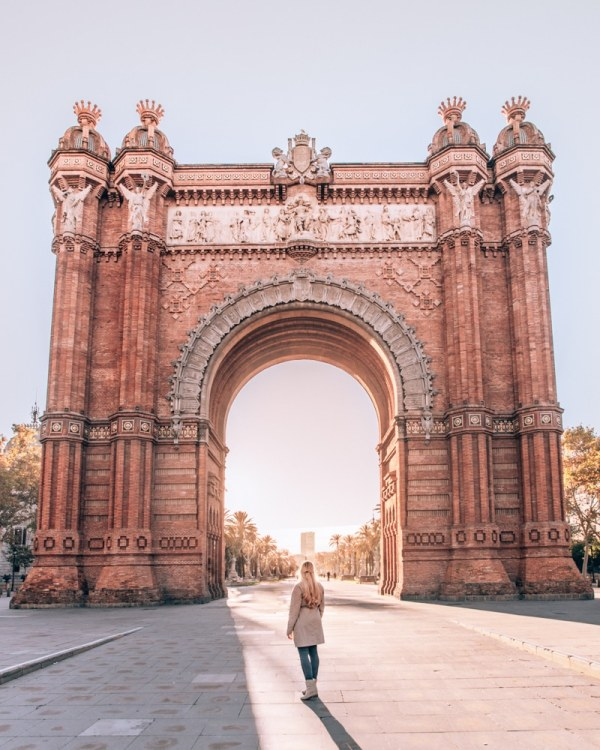 Arc de Triumf in Barcelona is one of the most popular Instagram photo spots in Barcelona. Find out what time to go to get it to yourself along with a 3 day itinerary for Barcelona here.
