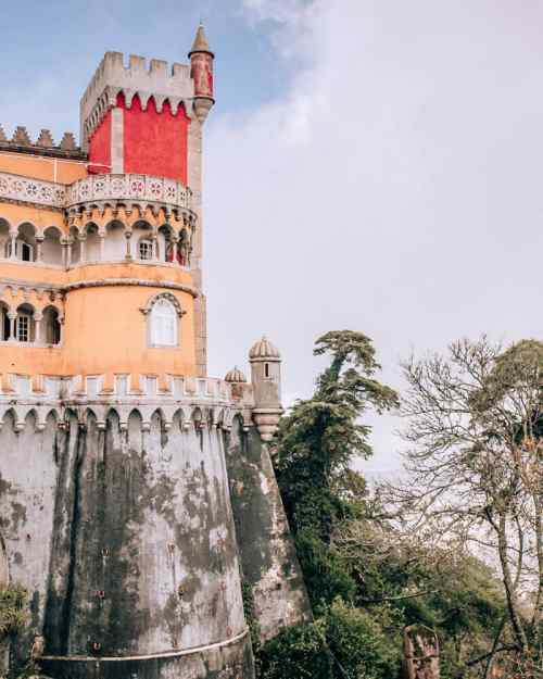 Pena Palace in Sintra is a must for your Lisbon to Sintra day trip.