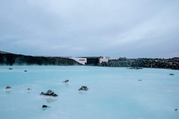 Visiting the Blue Lagoon for sunrise meant it was free and uncrowded. Even if you go in the middle of the day, you can have this area mostly to yourself. Bonus - it is completely free! Find out more about how to visit the Blue Lagoon for free in the full blog post!