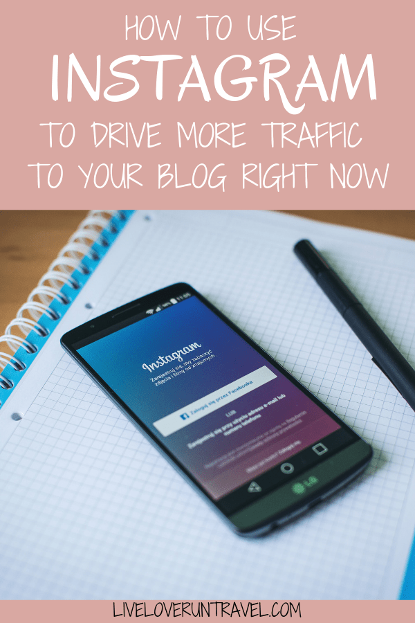 How to use Instagram to immediately drive more traffic to your website and increase your blog traffic