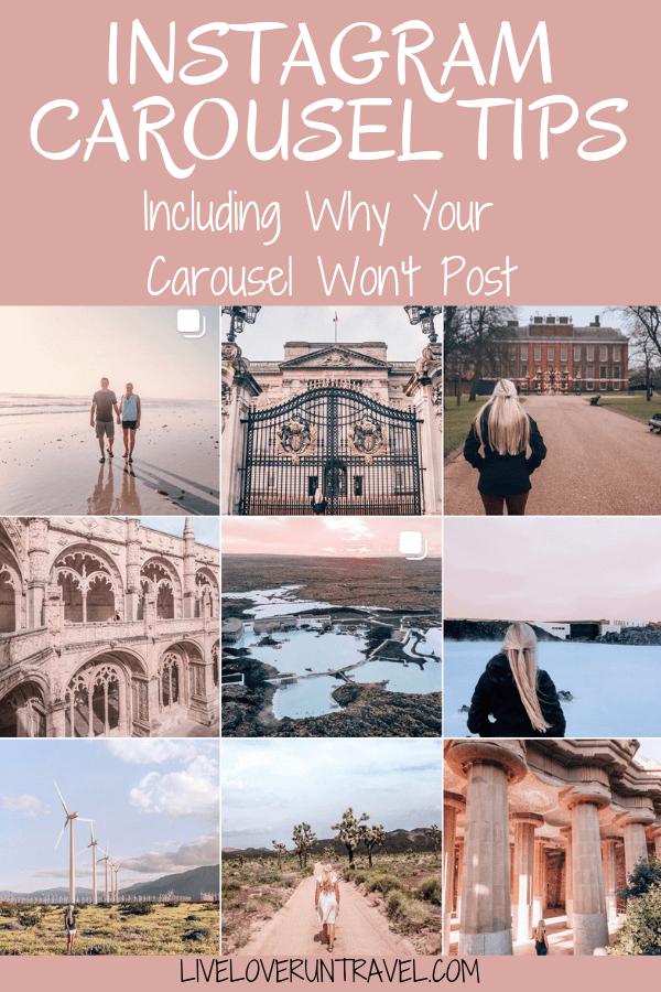 Ever had trouble getting an Instagram carousel to post? This might be the reason why (and it's a quick fix)! Plus, don't miss the other tips for posting carousels and getting good engagement with them.