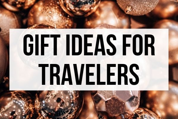 Looking for Christmas gift ideas for a traveler this year?Use this list of travel gift ideas for the traveler in your life. #travel #travelgifts #travelgiftguide #christmasgifts #giftguide | Christmas gifts for travelers | Birthday gifts for travelers | travel Christmas gifts | travel Birthday gifts | travel gifts for her | travel gifts for him | travel gifts for couples | travel gift ideas friends | travel gift ideas for women | travel gift ideas for backpackers | Christmas gift guide