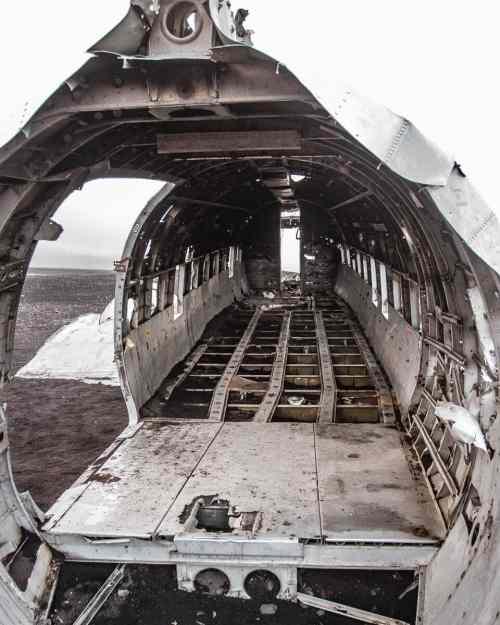 在海湾的马库里,在我的飞机上被困在了