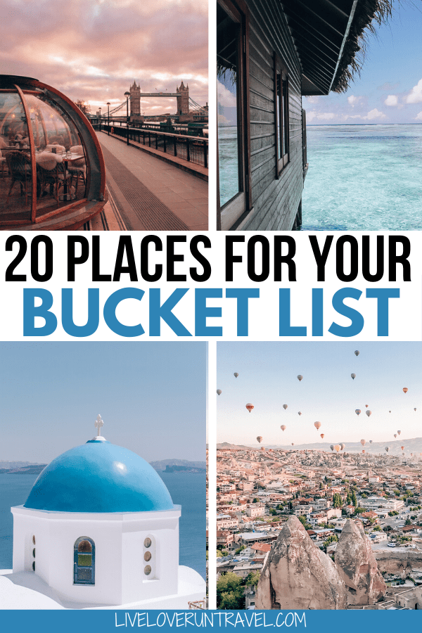 Click here for a breakdown of the top 20 travel destinations for 2020. Add these to your travel bucket list now. #beautifulplaces #bucketlist #travel   once in a lifetime destinations   bucket list destinations   bucket list travel   best places to visit   most beautiful destinations in the world   off the beaten path destinations   bucket list before I die   travel bucket list United States   Africa travel bucket list   bucket list Europe cities   bucket list Europe travel   best places to go