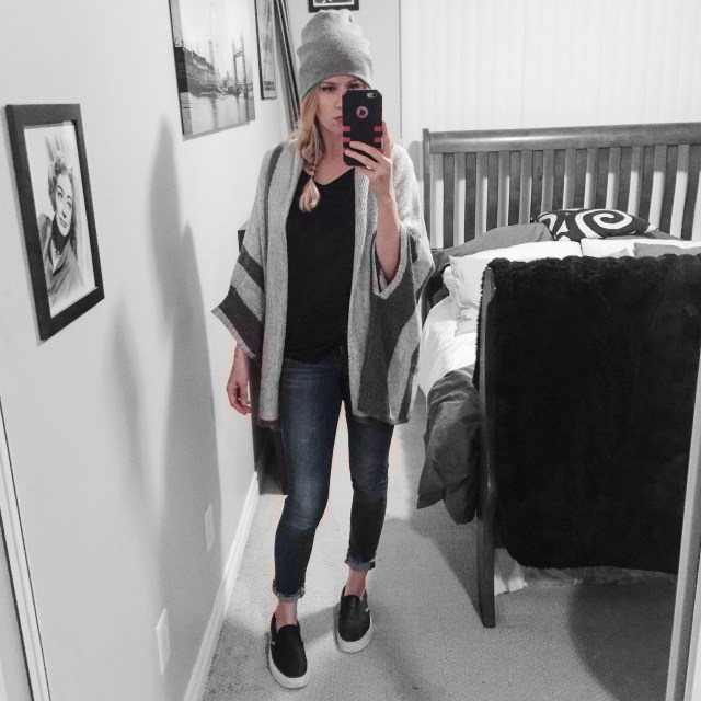 Mango Cape / Cardigan Capsule Wardrobe