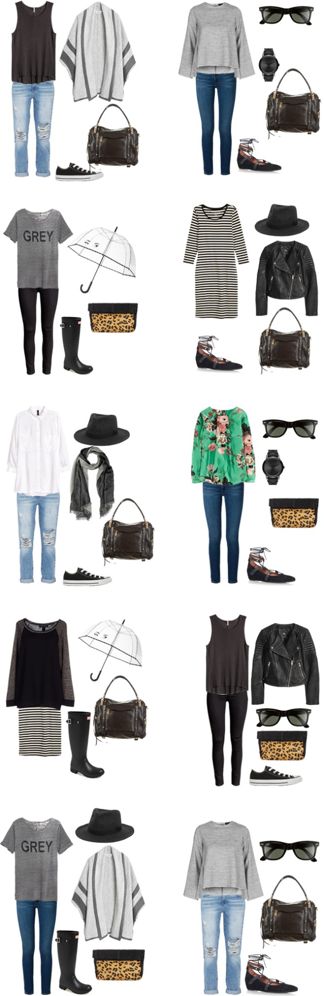 What to Wear in Dublin Outfit Options 1-10 #travellight #packinglight #traveltrips #packinglist #travel