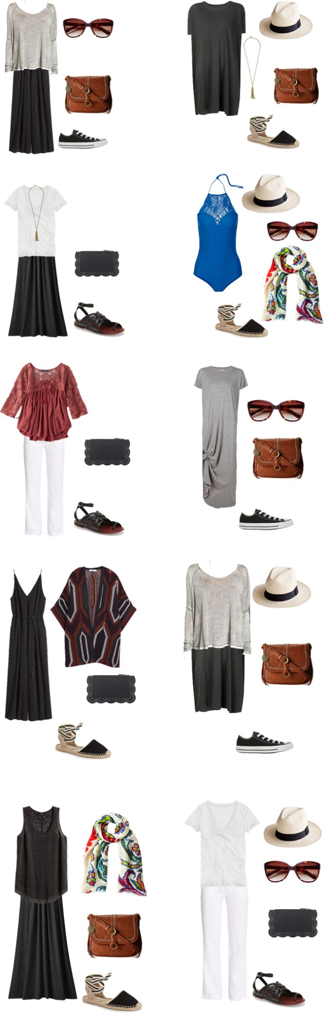 What to Wear in Panama Outfits 1-10 #travellight #packinglight #travel #traveltips