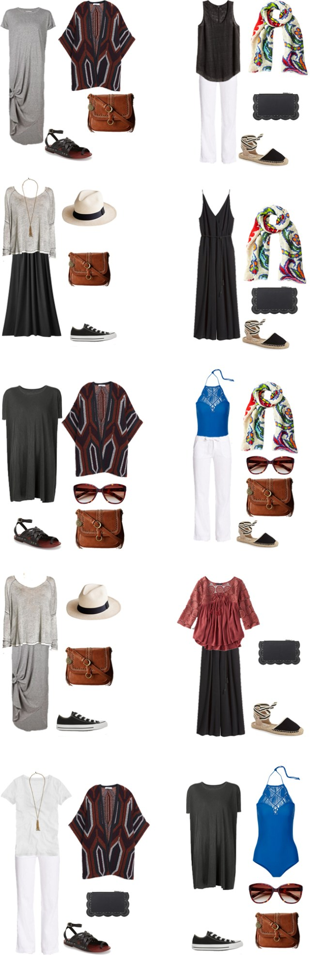 What to Wear in Panama Outfits 11-20 #travellight #packinglight #travel #traveltips