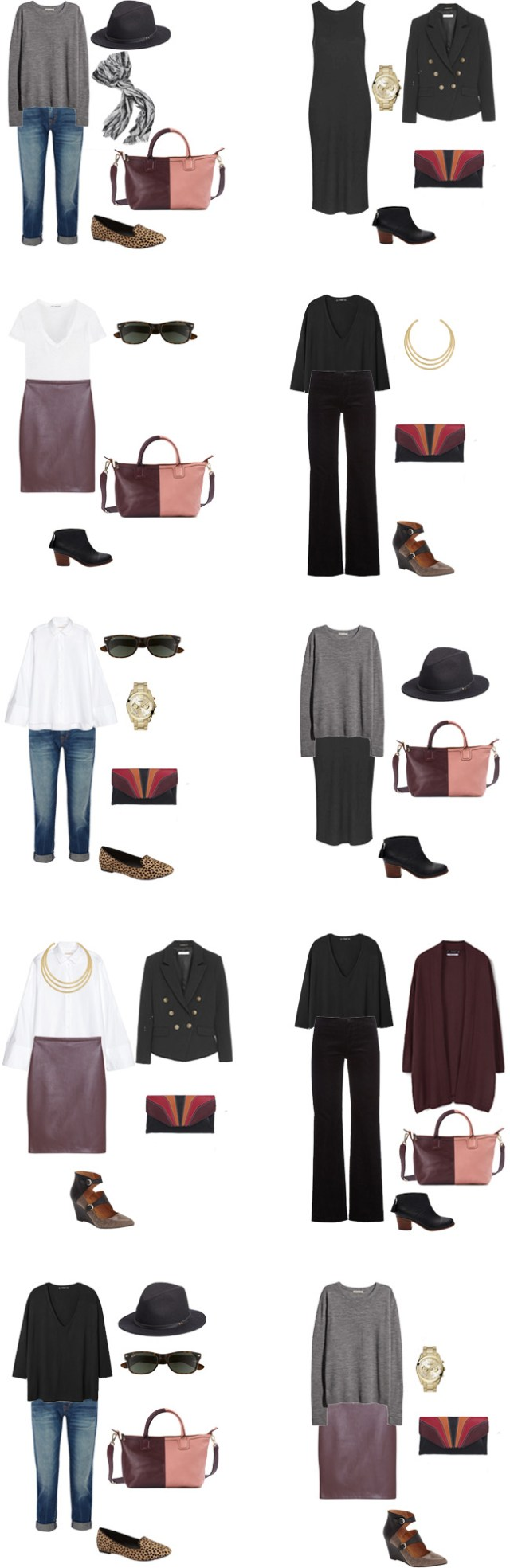 What to Wear for a Business Outfits 11-20 #travel #traveltips #packinglight #travellight