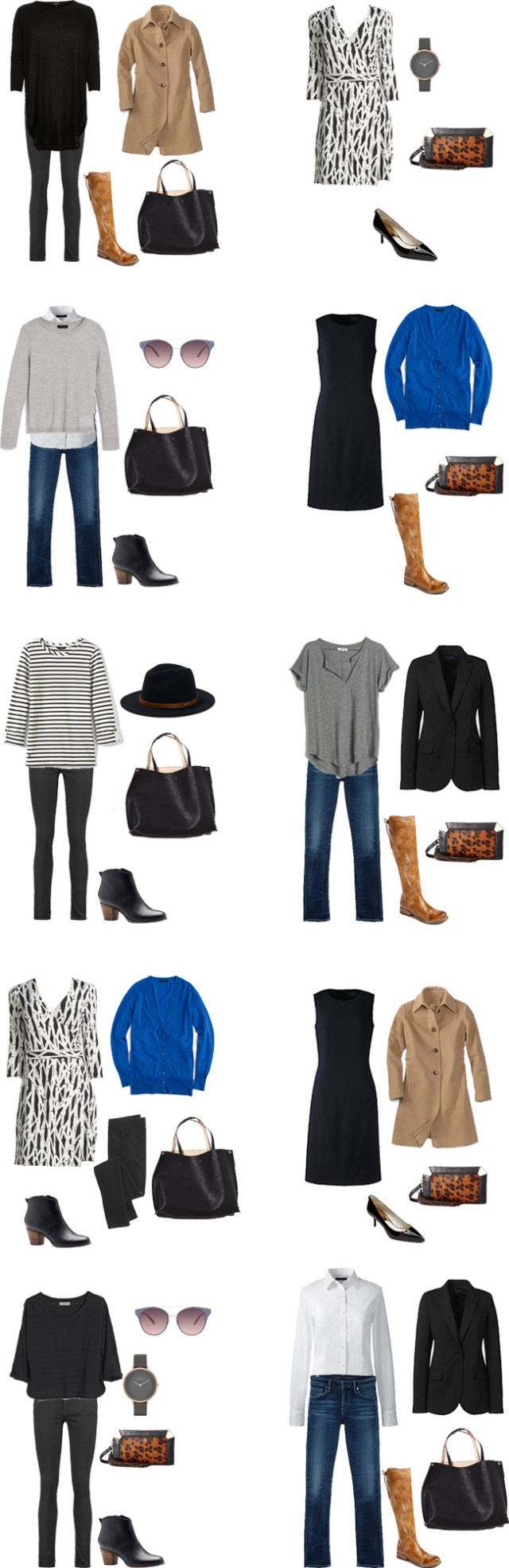 What to Wear in Vienna Outfits 1-10 #travellight #packinglight #traveltips #travel