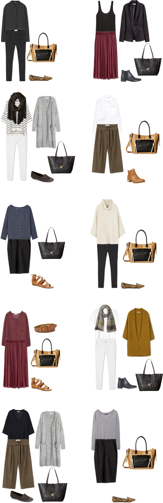 Teacher Capsule What to Wear Outfit Options 11-20 #capsule #capsulewardrobe #whattowear #teacherwardrobe