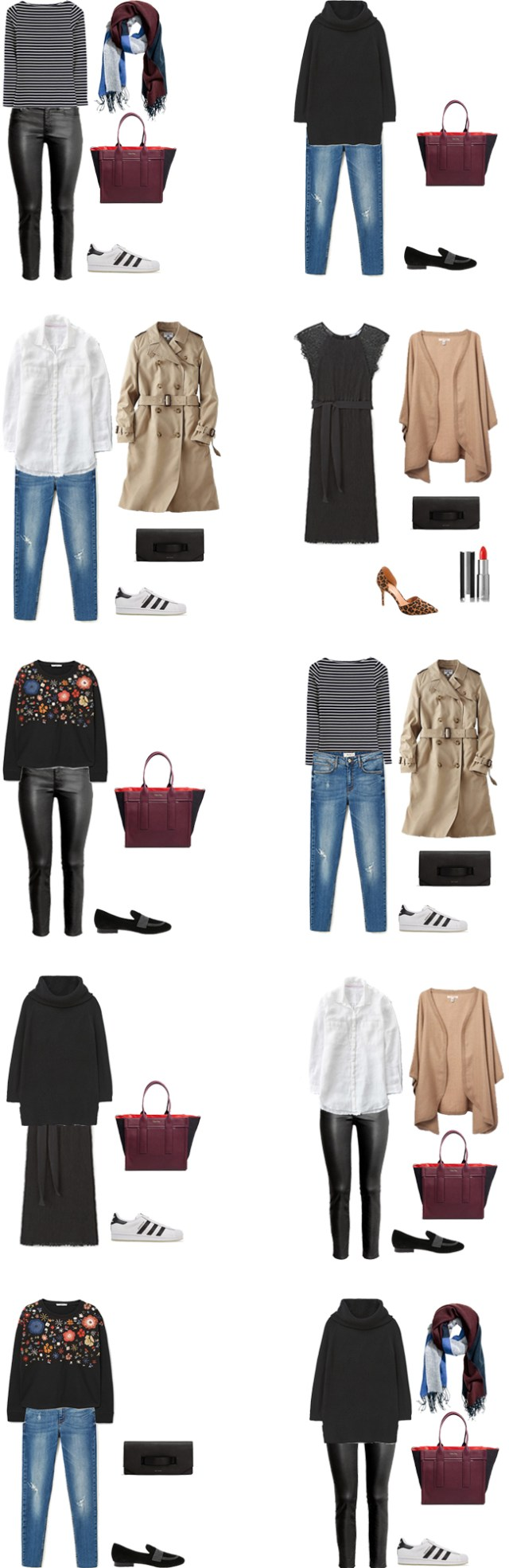 What to Wear on a 4 Day Fall Getaway 10 Outfit Options #travellight #packinglight #traveltips #travel