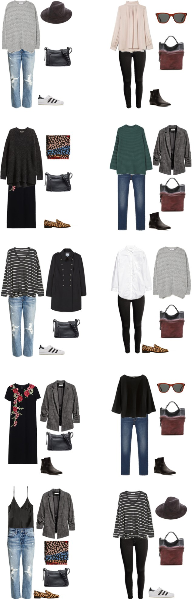 What to Wear in London England Packing Light Outfit Options 11-20 #travellight #packinglight #packinglist #traveltips #travel
