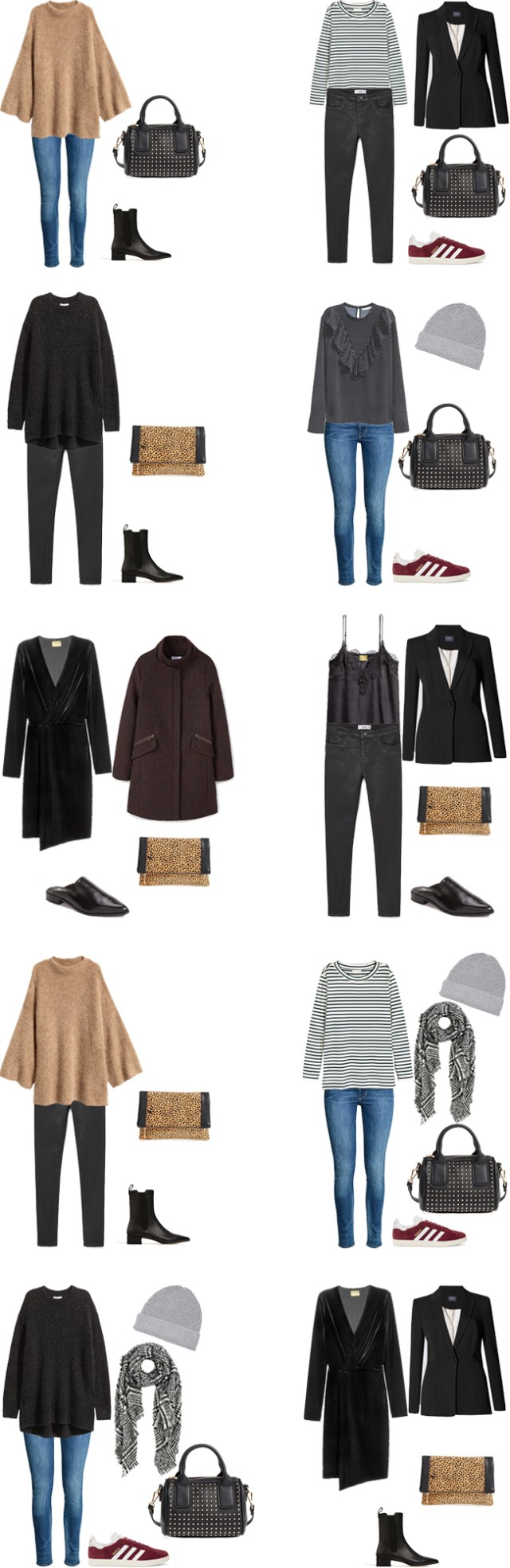What to Wear in New York City 4 Days in December Outfit Options #packinglight #packinglist #travellight #traveltips #travel
