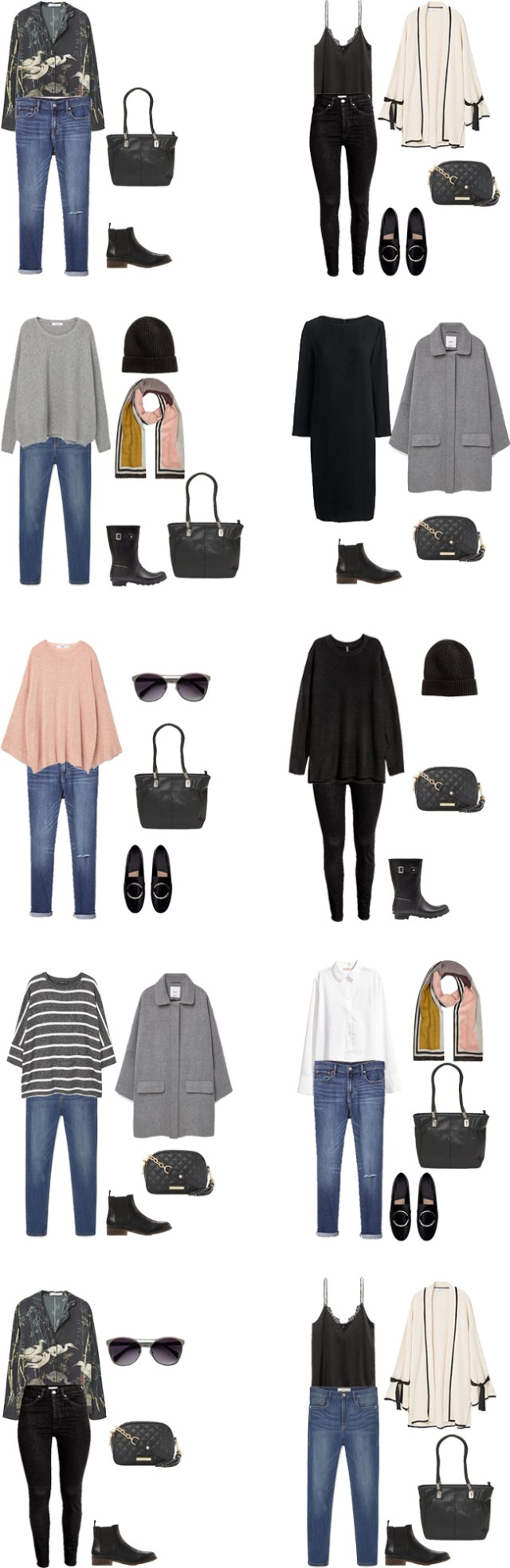What to Wear in London England for Christmas and New Years Outfit Options 1-10 #packinglight #travellight #travetips #travel